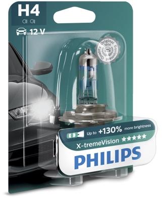 PHILIPS H4 X-tremeVision 1 ks