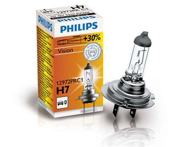 PHILIPS H7 Vision 1 ks