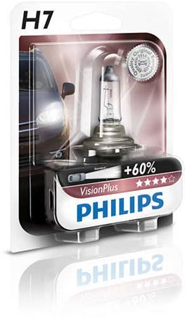 PHILIPS H7 VisionPlus 1 ks
