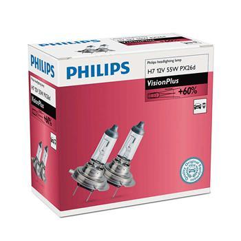 PHILIPS H7 VisionPlus 2 ks