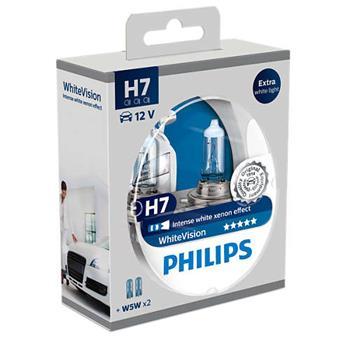 PHILIPS H7 WhiteVision 2 ks