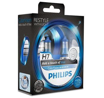PHILIPS H7 ColorVision Blue 2 ks