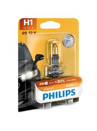PHILIPS H1 Vision 1 ks blister