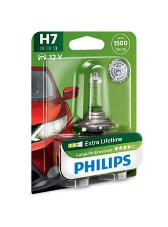PHILIPS H7 LongLife EcoVision 1 ks