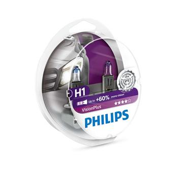 PHILIPS H1 VisionPlus 2 ks