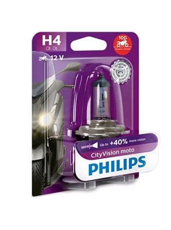 PHILIPS H4 CityVision Moto 1 ks