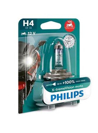 PHILIPS H4 X-tremeVision Moto 1 ks