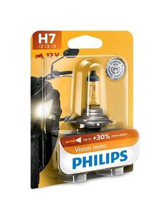 PHILIPS H7 Vision Moto 1 ks