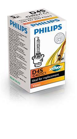 PHILIPS Xenon Vision D4S 1 ks
