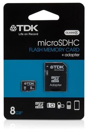 TDK microSDHC 8GB class 4 (t78537)