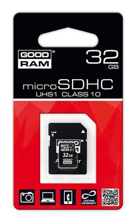 GOODRAM microSDHC 32GB class 10