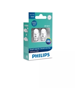 PHILIPS Ultinon T10 LED WHITE 11961 ULW