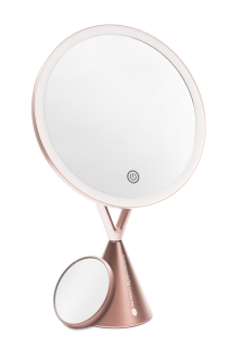 RIO ILLUMINATED MAKEUP MIRROR WITH 1x AND 5x MAGNIFICATION